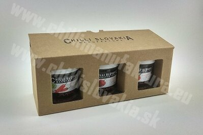 Gift Package 3x Crushed dried chilli flakes